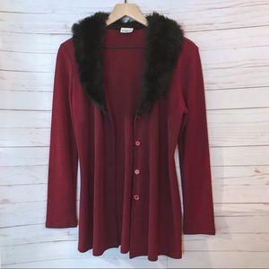 Vintage Red Coat ❤️